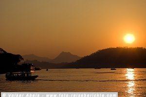 Mekong - beliebtes Ziele von Weltreisen © Volker Abels