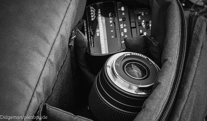 Die Fotoausrüstung im Urlaub sichern - www.foto-reiseberichte.com