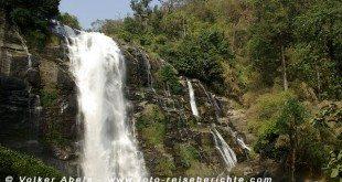 Mae Klang Wasserfall am Doi Inthanon bei Chiang Mai - Thailand © Volker Abels
