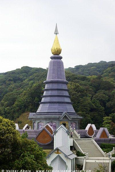 Chedi am Doi Inthanon bei Chiang Mai - Thailand © Volker Abels