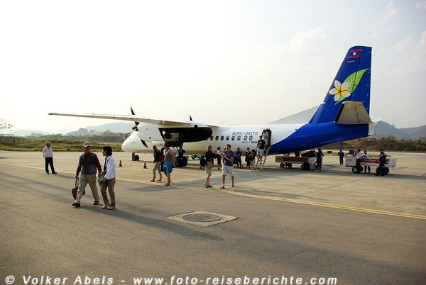 Laos-Airlines © Volker Abels