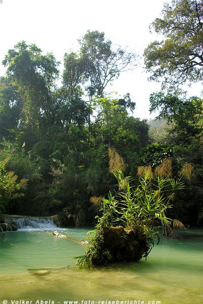Kuang Si Wasserfälle bei Luang Prabang - Laos © Volker Abels