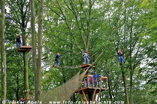 Photo of Keine Angst vor hohen Bäumen – klettern im Kletterpark