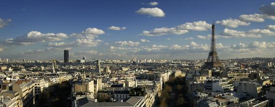 Paris Panorama mit Eiffelturm © B.Stefanov - Fotolia.com