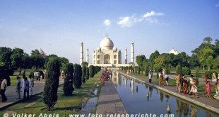 Taj-Mahal in Agra - Indien © Volker Abels