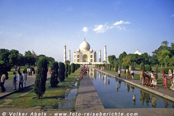 Photo of Agra – Stadt des Taj-Mahal, dem Mausoleum der großen Liebe