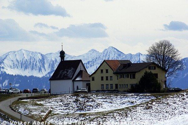 Kapelle bei St. Anton (Oberegg), Schweiz - © Volker Abels