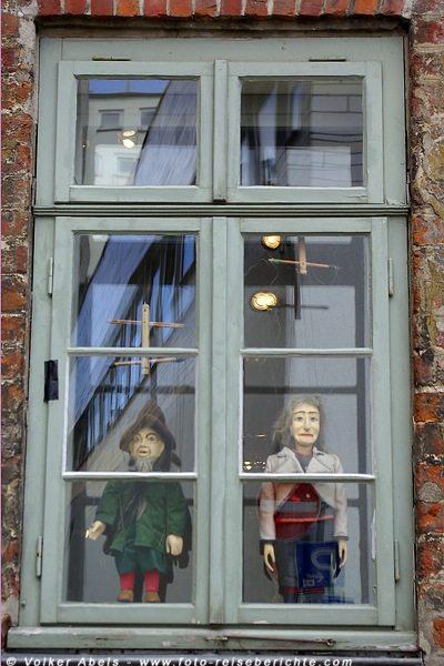 Hansestadt Lübeck - Fenster-Figurenmuseum  © Volker Abels