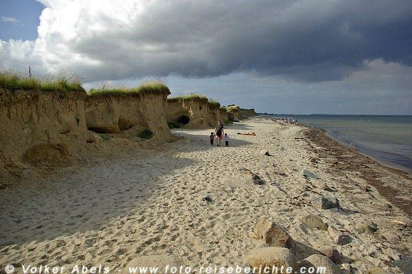 Strand bei Süßau - Ostsee © Volker Abels