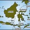 """Darstellung der sogenannten """"Wallace Linie"""" in Indonesien. Sie trennt die australische Flora von der Eurasischen. © Gunnar Ries"""