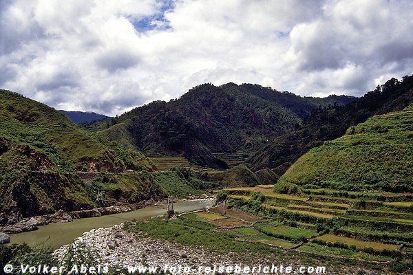 Wunderschöne Landschaft auf der Fahrt nach Sagada auf Luzon - Philippinen © Volker Abels