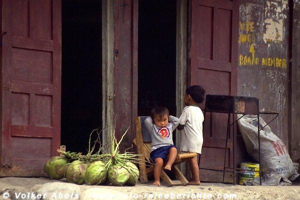 Es ist nicht viel los in  Banaue - Luzon, Philippinen © Volker Abels