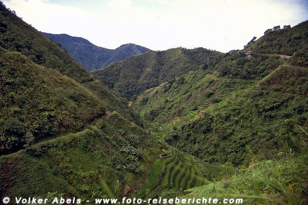 Wunderschöne Landschaft im Bereich Banaue/Batad - Luzon, Philippinen © Volker Abels