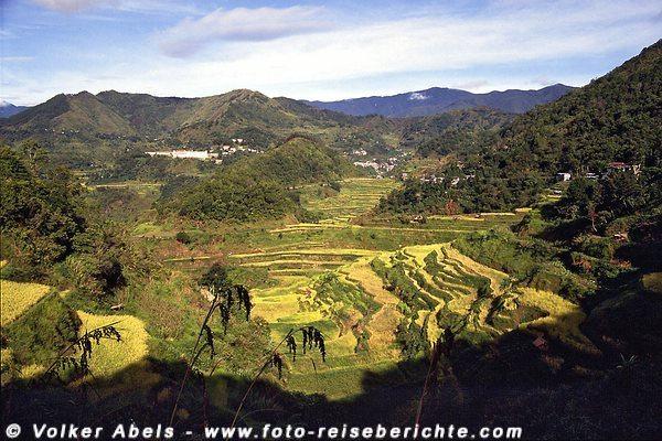 Grandiose Landschaft in der Nähe von Banaue, Luzon - Philippinen © Volker Abels