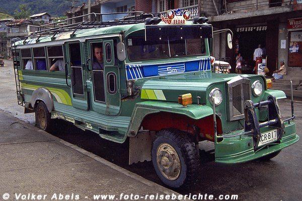Jeepney - Philippinen © Volker Abels