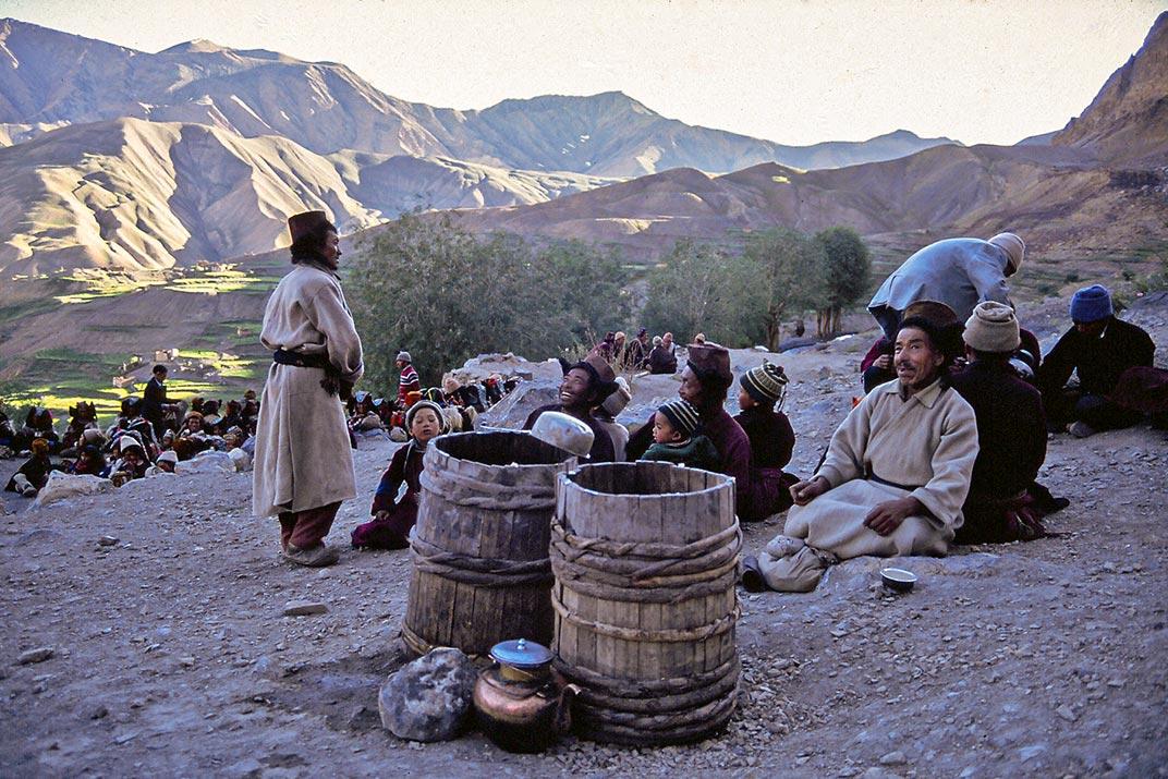 Klosterfest in Ladakh - Volker Abels Foto-Reiseberichte.com