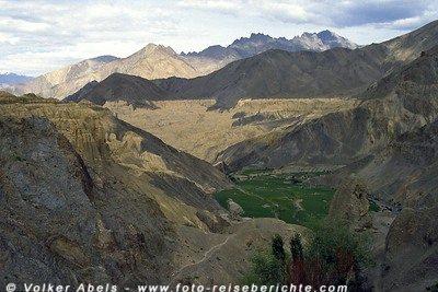 Landschaft in der Nähe von Lamayuru - Ladakh - Indien © Volker Abels
