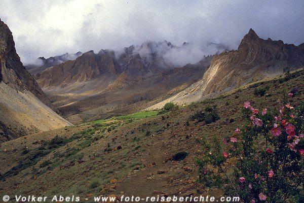 Wunderschöne Naturlandschaft in Ladakh © Volker Abels