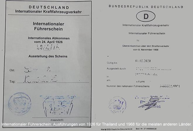 Führerschein wird außerhalb von Europa meistens benötigt. - www.foto-reiseberichte.com