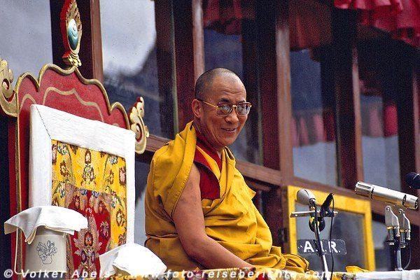 Photo of Der Dalai Lama in Padum – im ehemaligen Königreich Zanskar – auf der Ladakh und Zanskar Trekkingtour