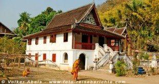 Kloster in Laos © Volker Abels