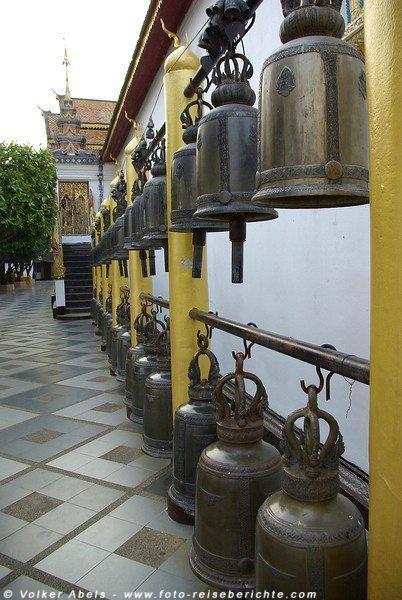 Glocken im Wat Phrathat Doi Suthep - Chiang Mai © Volker Abels