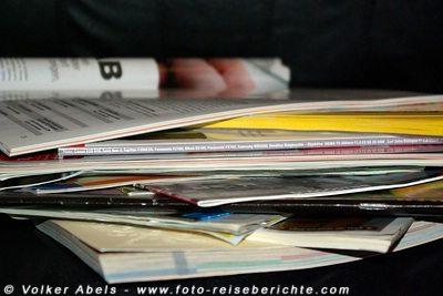 Kataloge und Reisekataloge © Volker Abels