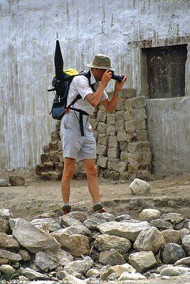 Tourist beim Fotografieren © Volker Abels