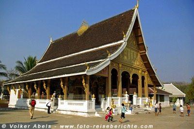 Tempel in Luang Prabang , Laos - Weltulturerbe seit 1995 © Volker Abels