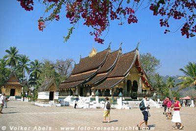 Tempel in Luang Prabang - Laos © Volker Abels