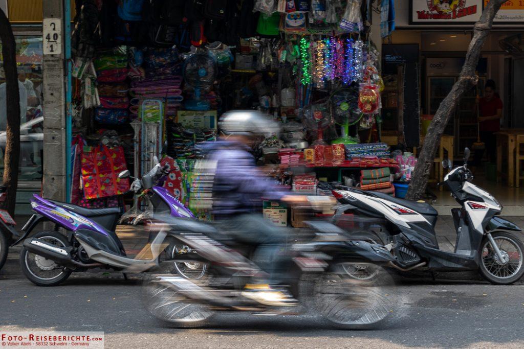 Motorrad in Thailand