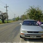 Mit dem Mietwagen in Thailand unterwegs sein - ein Auto mieten und in Thailand fahren