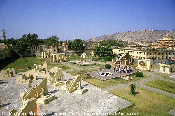 Photo of Das Observatorium Jantar Mantar – die Sternwarte von Jaipur in Rajasthan