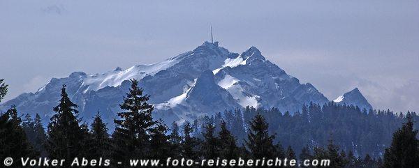 Bergpanorama in der Schweiz © Volker Abels