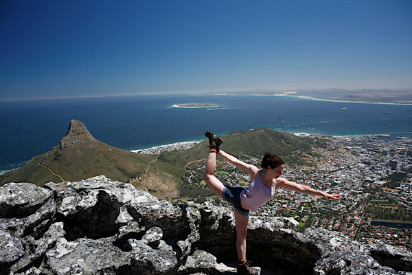 Kapstadt in Südafrika - eine grandiose Aussicht (Foto Sprachdirekt)
