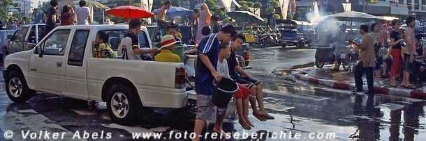 Photo of Songkran das Wasserfest – Neujahr in Thailand