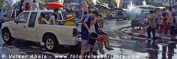 Songkran Fest in Thailand © Volker Abels