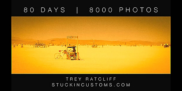 80 Days - 8000 Photos © Tray Retcliff