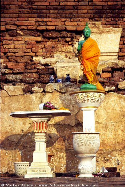 Buddha-Statue - Ayutthaya © Volker Abels
