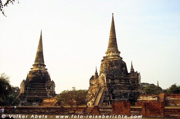 Stupas - Ayutthaya © Volker Abels