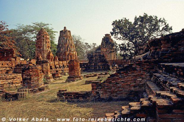 Alte Tempel - Ayutthaya © Volker Abels