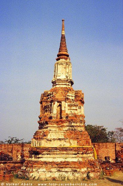 Alte Stupa - Ayutthaya © Volker Abels