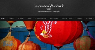 Screenshot der Website Inspiration Worldwide
