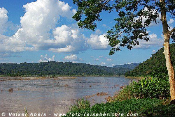 Mekong in Thailand, nördlich von Nong Khai © Volker Abels