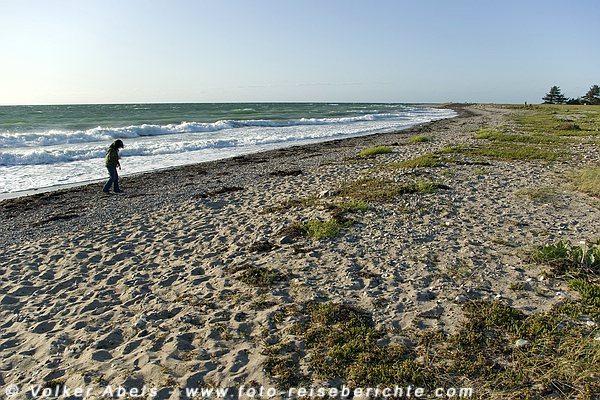 Strand auf der Insel Fehmarn, Ostsee © Volker Abels - www.foto-reiseberichte.com