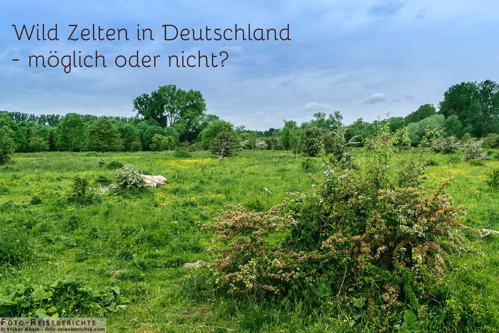 Photo of Wild Zelten – Deutschland, so ist wildes Campen möglich