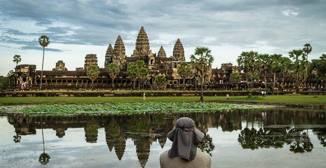 Tempel von Angkor Wat © Volker Abels - www.foto-reiseberichte.com