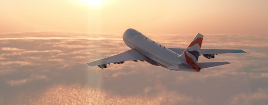 Commercial airplane © ffly - Fotolia.com