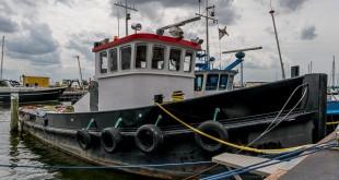 Kutter im Hafen von Urk