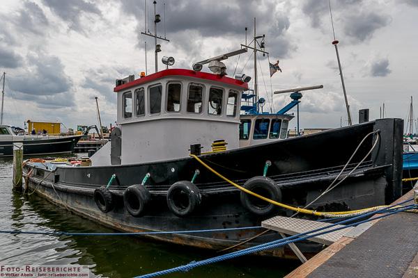 Kutter im Hafen von Urk © Volker Abels